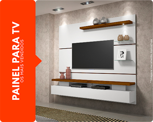 Centro Lower - Painel TV